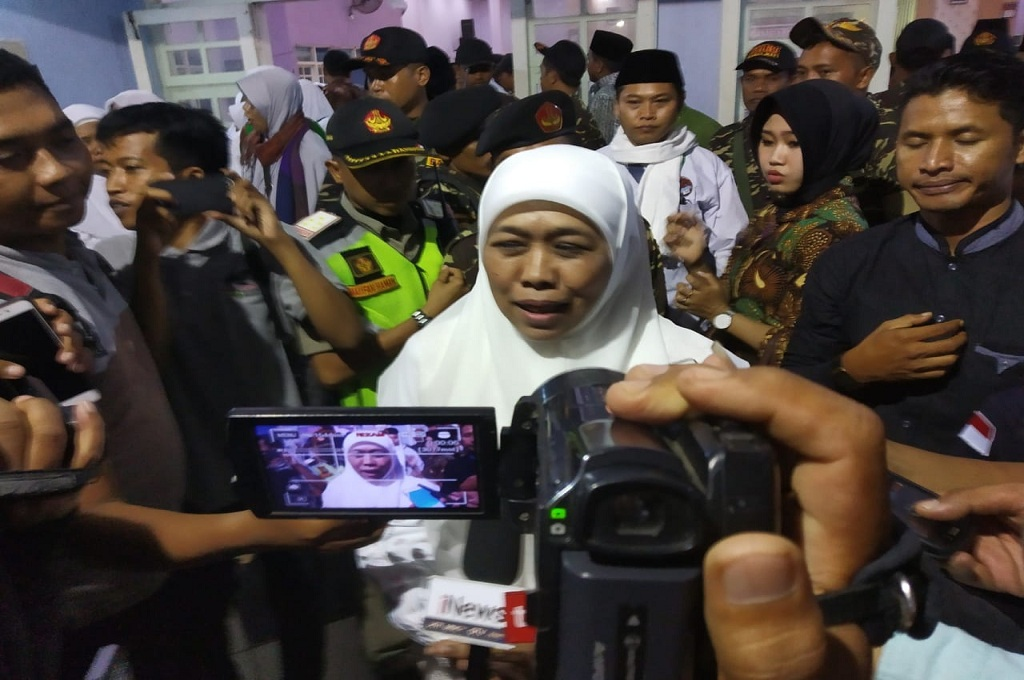 Khofifah Indar Parawansa, Dewan Pengarah Jaringan Kiai-Santri Nusantara, Medcom.id - Rahmatullah