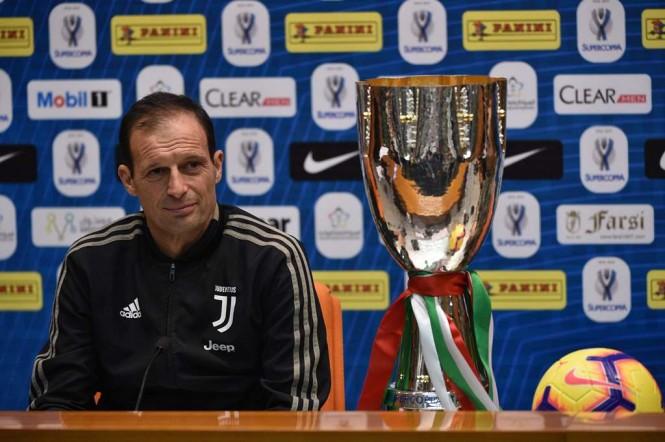 Allenatore Juventus Massimiliano Allegri. (Foto: AFP)