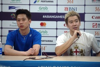 Marcus/Kevin Menangi Derbi di Malaysia