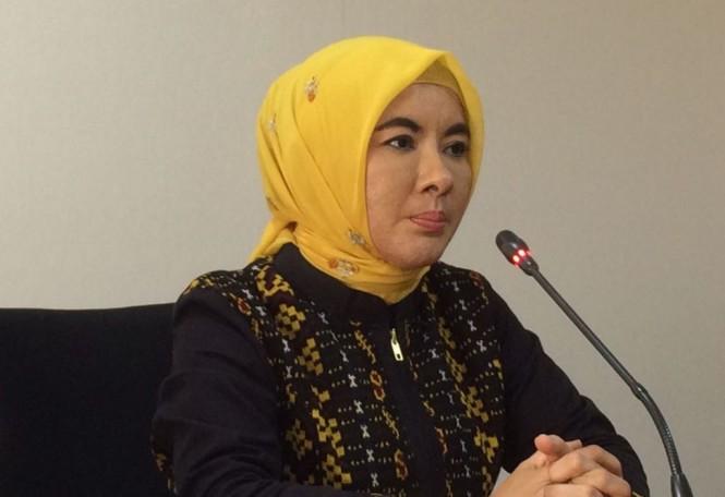 Direktur Utama Pertamina Nicke Widyawati. (FOTO: Medcom.id/Husen Miftahudin)