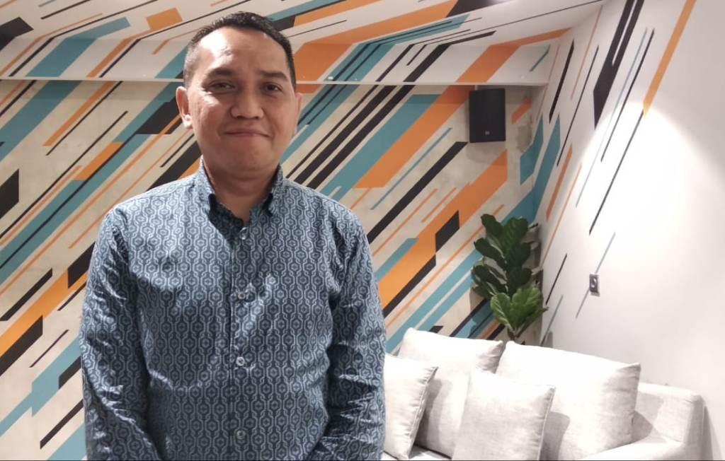 COO PT Liga Indonesia Baru (operator Liga 1), Tigor Shalom Boboy. (Medcom.id/Rendy Renuki H)