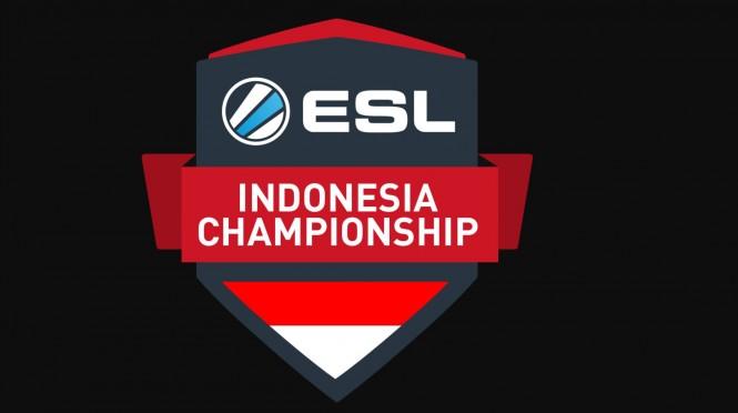 Kompetisi esport ESL Indonesia Championship.