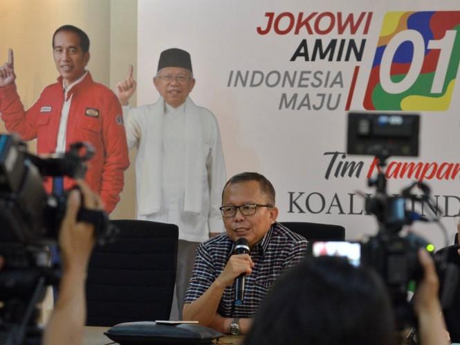 Wakil Ketua Tim Kampanye Nasional (TKN) Joko Widodo-Ma'ruf Amin, Arsul Sani. Foto: MI/Mohamad Irfan.