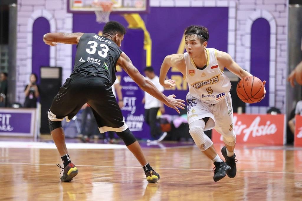 Laga BTN CLS Knights melawan Formosa Dreamers di Asian Basketball League 2018--2019 (Istimewa)