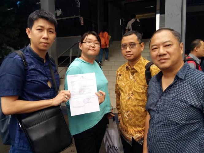 Ratna polisikan Duta Kemenpora Maya Angkasa. Foto: Medcom.id/Siti Yona Hukmana.