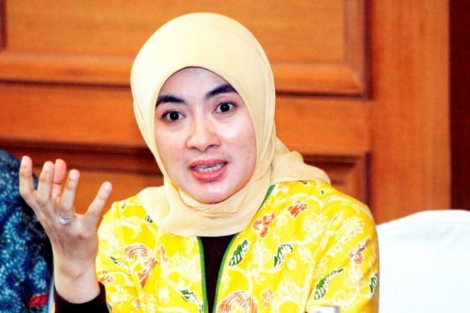 Direktur Utama Pertamina Nicke Widyawati (MI/IMMANUEL ANTONIUS)