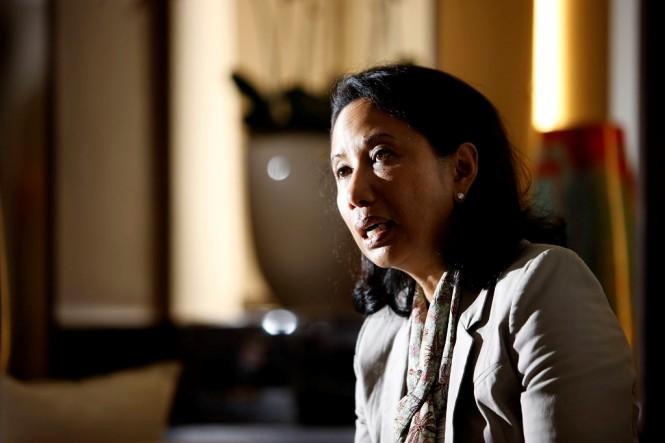 Menteri BUMN Rini Soemarno (MI/PANCA SYURKANI)