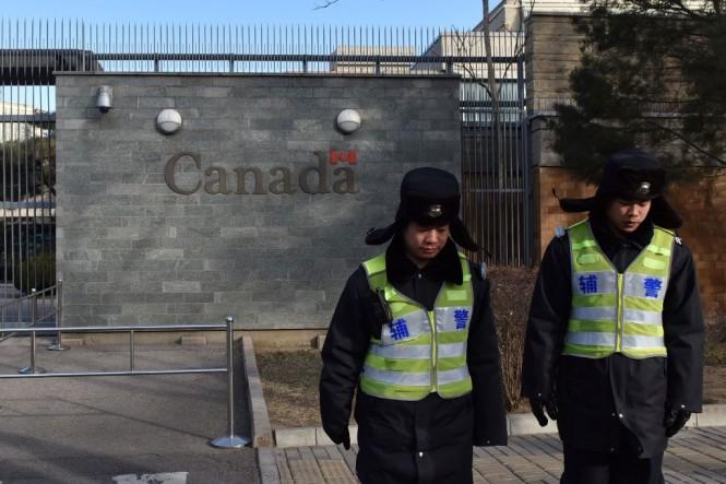Kedubes Kanada di Beijing. (Foto: AFP)