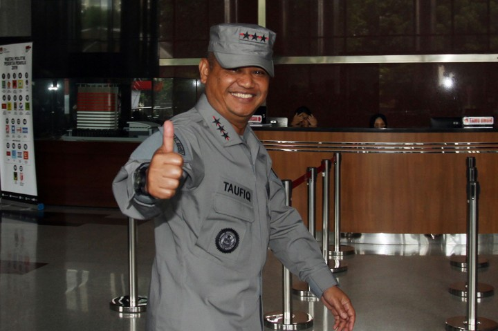 Kepala Bakamla Sambangi KPK