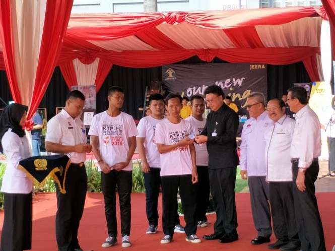 Perekaman KTP-el di Lapas Cipinang, Jakarta. Foto: Medcom.id/Dian Ihsan Siregar