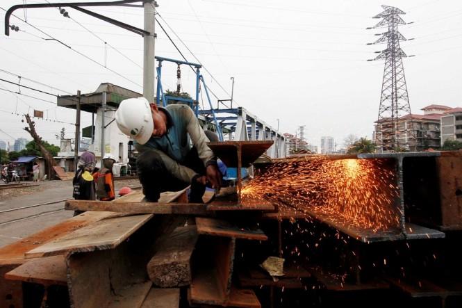 Ilustrasi aktivitas industri manufaktur. (FOTO: MI/Angga)