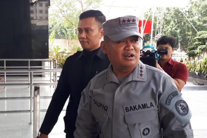 Kepala Badan Keamanan Laut (Bakamla) Laksamana Madya (Laksdya) Achmad Taufiqoerrochman - Medcom.id/Juven Martua Sitompul.