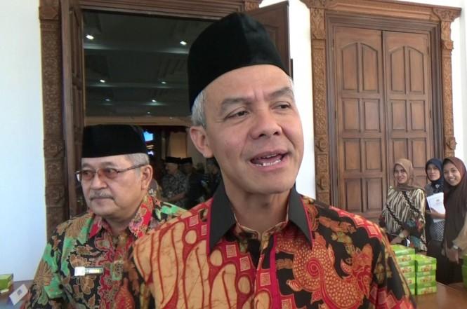 Gubernur Jawa Tengah, Ganjar Pranowo di Wisma Perdamain Semarang, Jumat 3 Agustus 2018, Medcom.id - Budi Arista (Budi Arista Romadhoni)