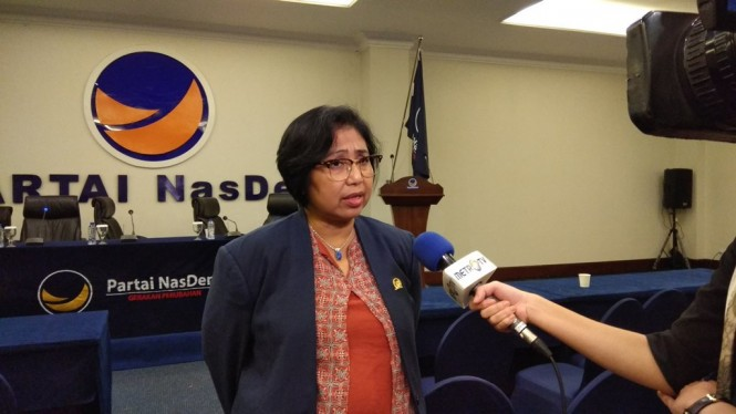 Ketua DPP Partai NasDem Irma Suryani Chaniago. Foto: Medcom.id/Fachri