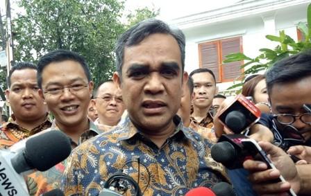Sekjen Partai Gerindra Ahmad Muzani. Foto: Medcom.id/Siti Yona Hukmana.