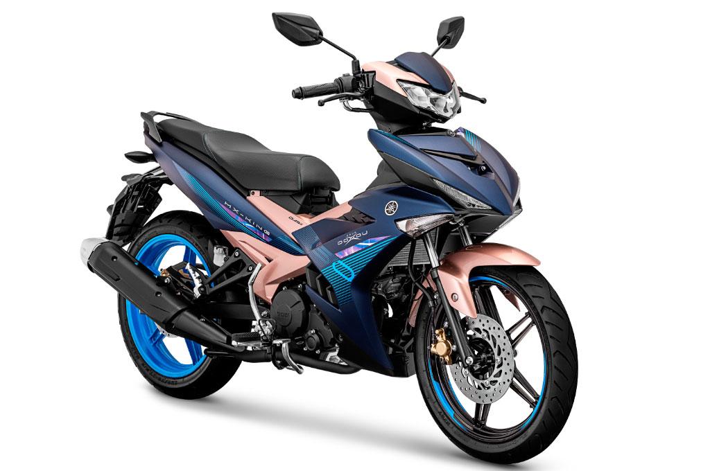 Yamaha MX King 150 edisi Doxou, berani mainkan tabrak warna. Yamaha
