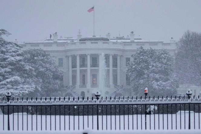 Seorang pria di Amerika Serikat (AS) ditangkap saat hendak menyerang Gedung Putih. (Foto: AFP).