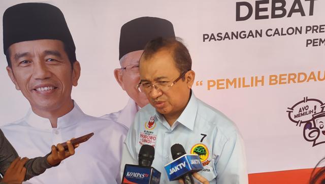Wakil Ketua Badan Pemenangan Nasional (BPN), Priyo Budi Santoso. Foto: Medcom.id/Ilham Pratama.