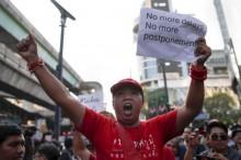 Ratusan Warga Thailand Akan Demo Tuntut Pemilu Dilaksanakan