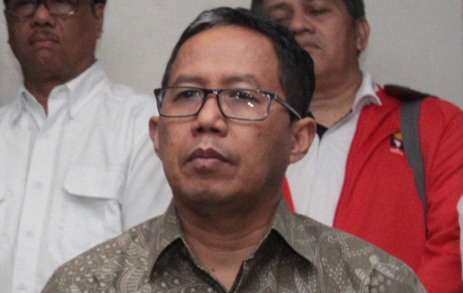 Wakil Ketua Umum PSSI Joko Driyono (Foto: Antara/Reno Esnir)