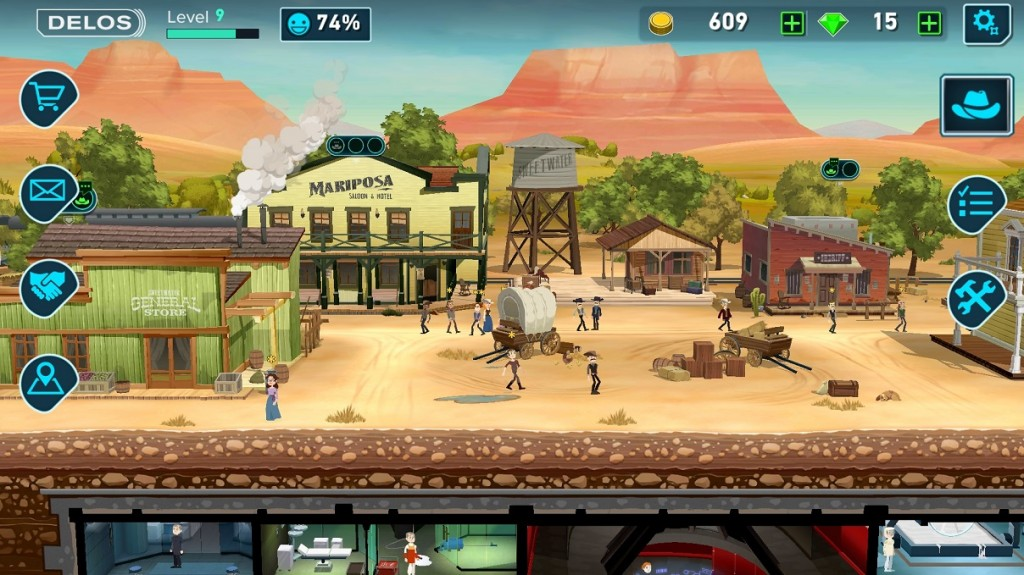 Game Westworld Mobile.