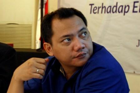 Anggota Tim Kampanye Nasional (TKN) Joko Widodo-Ma'ruf Amin, Taufik Basari - MI/Adam Dwi.