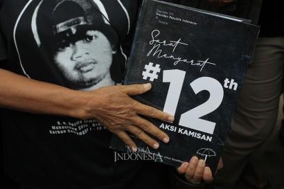 Peringatan 12 Tahun Aksi Kamisan