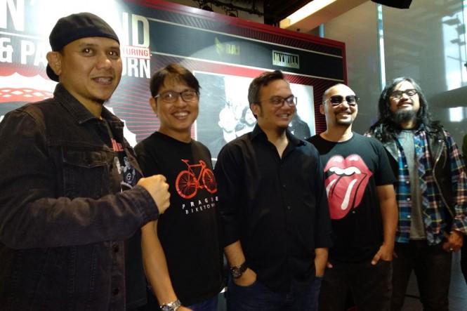Jumpa pers konser Rock N' Sound 2019 di Hard Rock Cafe Jakarta, pada Kamis, 17 Januari 2019 (Foto: Medcom.id/Shindu Alpito)
