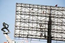 Proses Perizinan Pemasangan Reklame Dikeluhkan