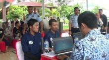 Ribuan Warga Binaan Rutan Tangerang Rekam E-KTP