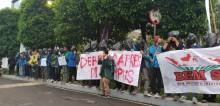 Mahasiswa Protes Debat Pilpres