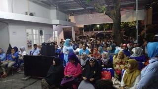 Pendukung Mulai Memadati Seknas Prabowo-Sandi