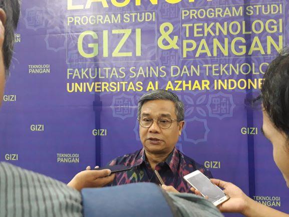 Rektor Universitas Al-Azhar Indonesia, Asep Saefuddin, Medcom.id/Intan Yunelia.