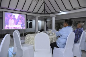 Jusuf Kalla Gelar Nobar Debat Pilpres di Rumah Dinasnya
