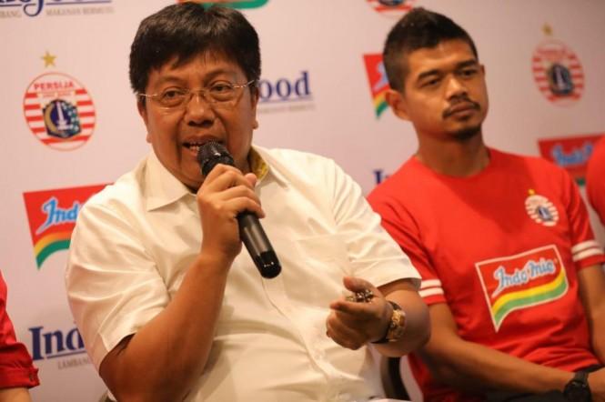 Direktur Utama Persija Jakarta, Gede Widiade (Dok. Persija)