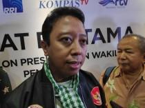 Penasihat Tim Kampanye Nasional (TKN) Joko Widodo-Ma'ruf Amin, Romahurmuziy. Foto: Medcom.id/M Sholahadhin Azhar