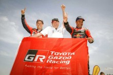 Nasser Al-Attiyah Sukses Bawa Toyota Juara di Dakar Rally 2019