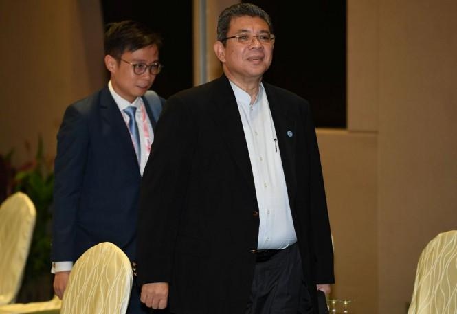 Menlu Malaysia Saifuddin Abdullah. (Foto: AFP)