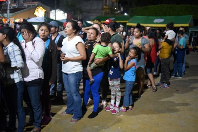 Imigran asal Honduras. (Foto: AFP)