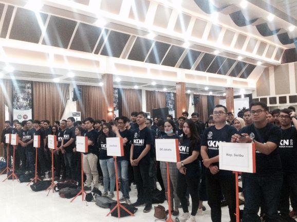 Sebanyak 952 mahasiswa Universitas Budi Luhur (UBL) siap diturunkan mengikuti KKN Citarum Harum, Kemenristekdikti/humas.