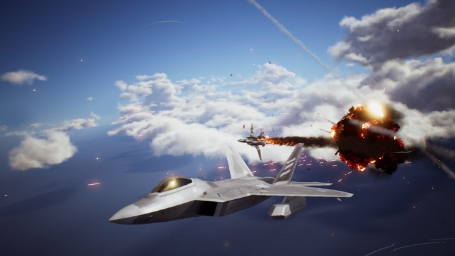 Ace Combat 7: Skies Unknown.