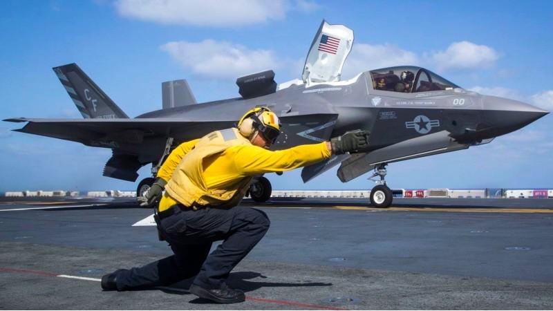 Jet tempur F-35 yang diproduksi oleh perusahaan Amerika Serikat (AS), Lockheed Martin. (Foto: AFP).