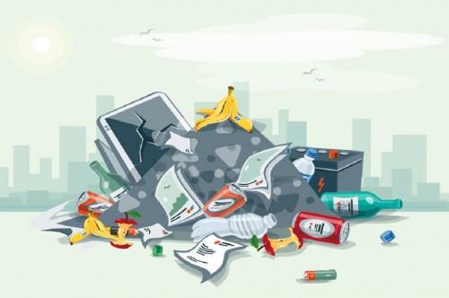 Ilustrasi tumpukan sampah, Medcom.id