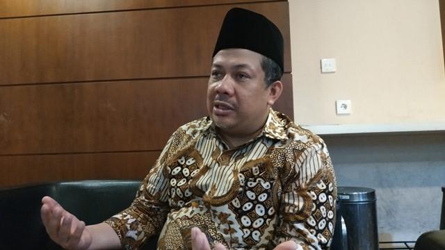 Wakil Ketua DPR Fahri Hamzah. Foto: Medcom.id/Ilham Pratama.