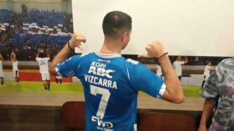 Esteban Vizcarra Pakai Nomor Keramat di Persib