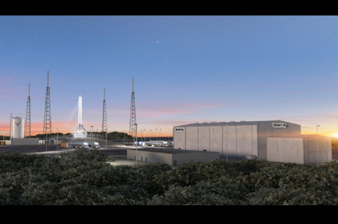 Startup Relativity Space memperoleh lokasi peluncuran roket pertamanya.