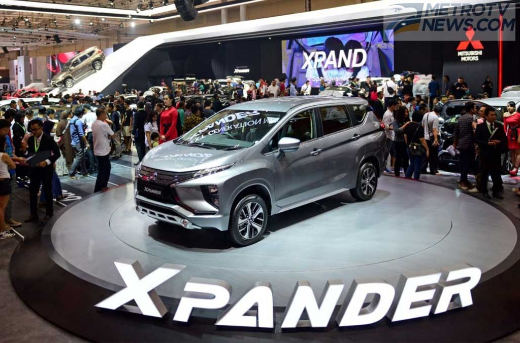 Mitsubishi masih ogah melakukan facelift Xpander, karena permintaannya masih cukup tinggi. Dok Medcom.id