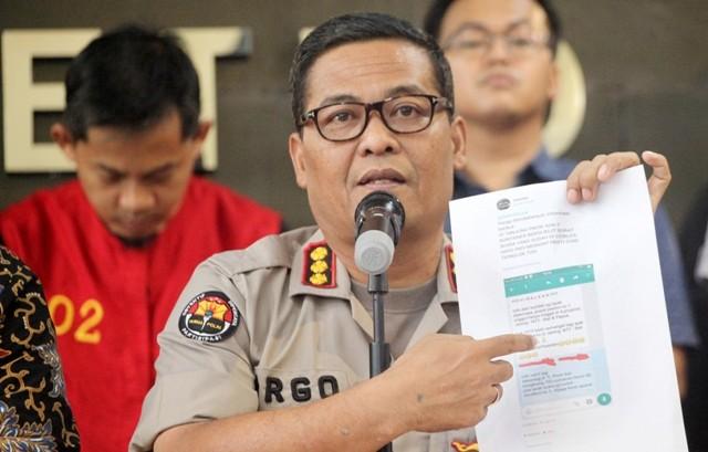Kabid Humas Polda Metro Jaya Argo Yuwono. Foto: Antara/Rachel Aritonang.
