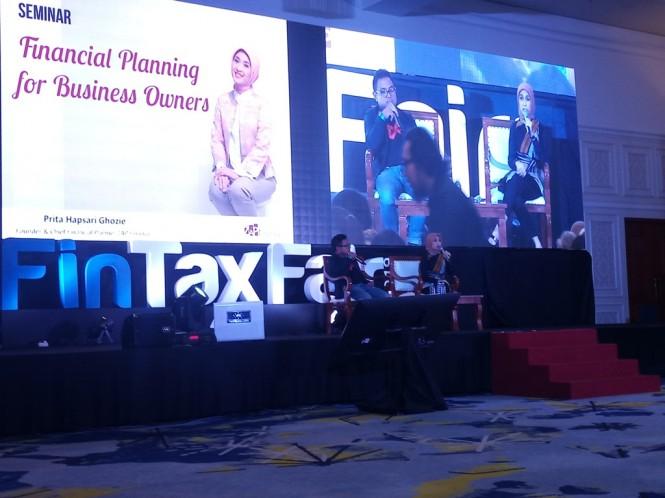 Perencana Keuangan sekaligus Founder & Director ZAP Finance Prita H Gozie (kanan). (FOTO: Medcom.id/Nia Deviyana)