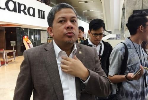 Politikus PKS Fahri Hamzah--Metrotvnews.com/Gervin Nathaniel
